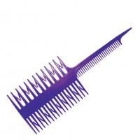 Гребень для мелирования 7005 (фиолетовая)