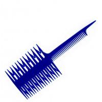 Гребень для мелирования 7005 (синяя)