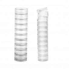 Баночки-закрутки пластик.(10шт.) пирамида