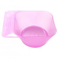 Миска для покраски волос 023 розовая