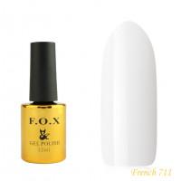 Гель-лак F.O.X French 12 мл №711