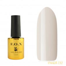 Гель-лак F.O.X French 12 мл №712