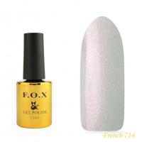 Гель-лак F.O.X French 12 мл №714