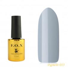 F.O.X gel-polish gold Pigment 013, 12 ml