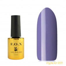 F.O.X gel-polish gold Pigment 019, 12 ml