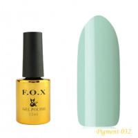 F.O.X gel-polish gold Pigment 032, 12 ml