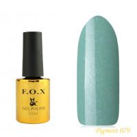 F.O.X gel-polish gold Pigment 079, 12 ml