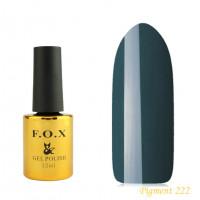 F.O.X gel-polish gold Pigment 222, 12 ml