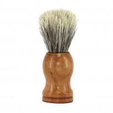Помазок для бритья дерев/золот