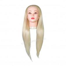 Голова учебная (иск.термо.волосы) НТ613