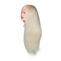 Голова учебная (иск. термо. волосы) 18DY-W