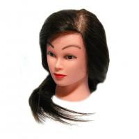 Голова учебная (иск. термо. волосы) 18DY-Z