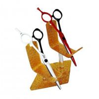 Подставка для ножниц на 2 шт.золото