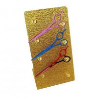 Подставка для ножниц на 4шт золото