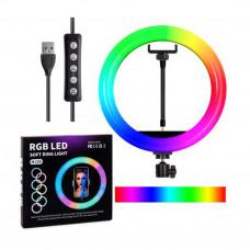Лампа MJ36 кольцевая цветная