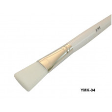 Кисть для нанесения масок, деревянная ручка.