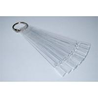 Планшет для образцов веер прозрачный 10шт