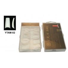Типсы белые (м/к) по 100шт. в упаковке