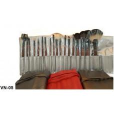 Визажный набор (18 кистей)