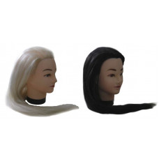 Голова учебная (иск. волосы, длинна 45 см.)