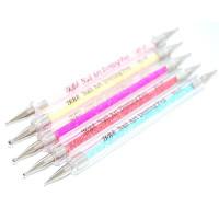 Дотс двухсторонни в наборе 5шт ручка с декором ND-07