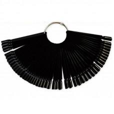 Планшет для образцов веер черный (50шт)