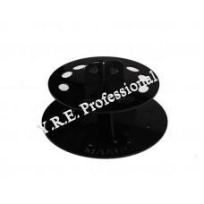 Подставка для кистей круглая черная