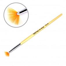 Кисть веерная длинная ручка
