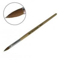 Кисть для акрила деревянная ручка YKAD-10