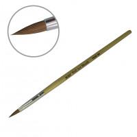 Кисть для акрила деревянная ручка YKAD-06