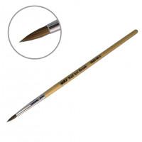 Кисть для акрила деревянная ручка YKAD-04-1