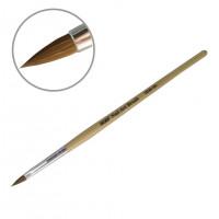 Кисть для акрила деревянная ручка YKAD-04