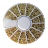 Контейнер-карусель бульонки (золото мет)
