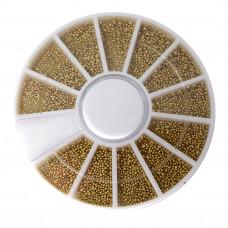 Контейнек-карусель бульенки золото (пласт.)