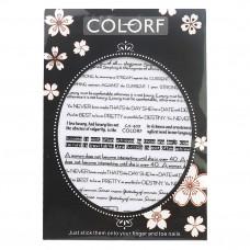 Наклейка 3D Colorf CA