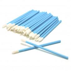 Аппликатор для снятия ресниц (50 шт) (голубые)