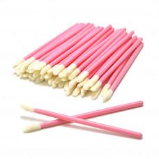 Аппликатор для снятия ресниц (50 шт) (розовые)