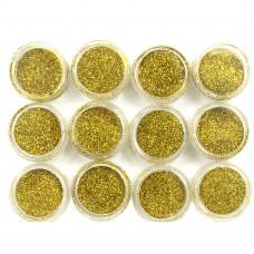Набор блесток золото
