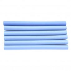 Бигуди папилетки дл, d 2.2  (6шт) (голубые)