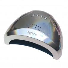 Лампа 48 Вт. UV -LED SUN ONE (ХРОМ) серебро